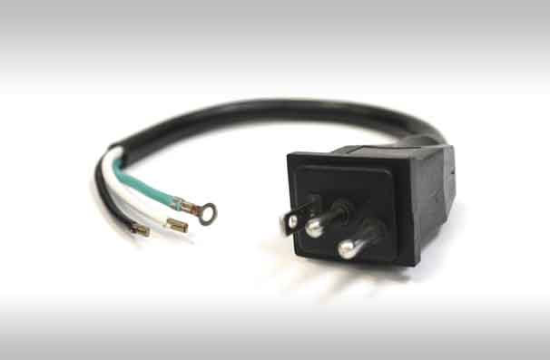 Enjoyable Le Male Lamp Cord With Bare Wire End 300V 1 14 3 Hygro Wiring Cloud Oideiuggs Outletorg